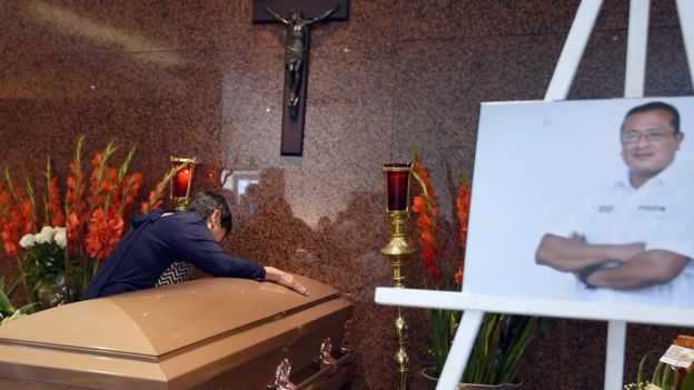 Funeral de Héctor González