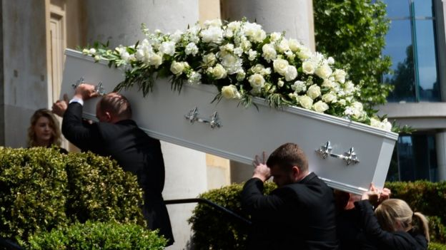 funeral held for dale winton on star s 63rd birthday bbc news