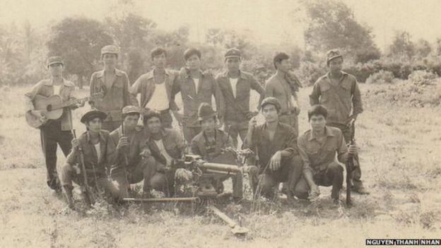 越軍進入柬埔寨