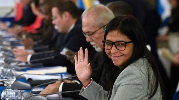 Delcy Rodríguez, excanciller de Venezuela y flamante legisladora de la ANC.