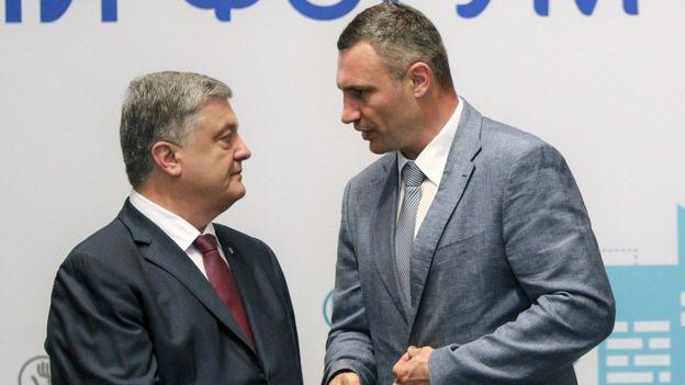 Порошенко Кличко