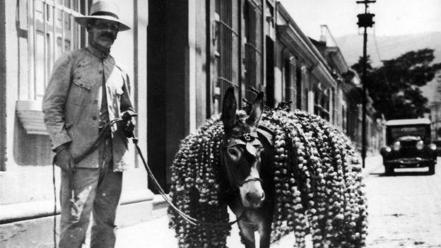 """El editorial de """"Sembrar el petróleo"""" se escribió en la Venezuela de 1936. Esta foto es de 1937."""