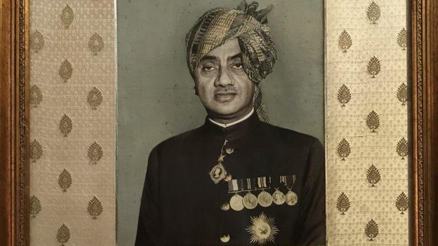 Marajá de Bhavnagar