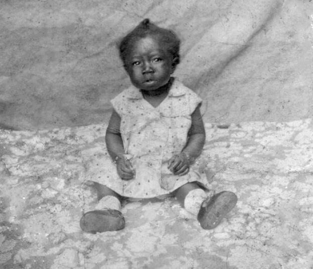 Maria Lata D'Água bebê