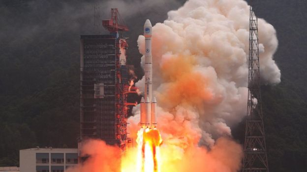Beidou satellite launch on 25th August