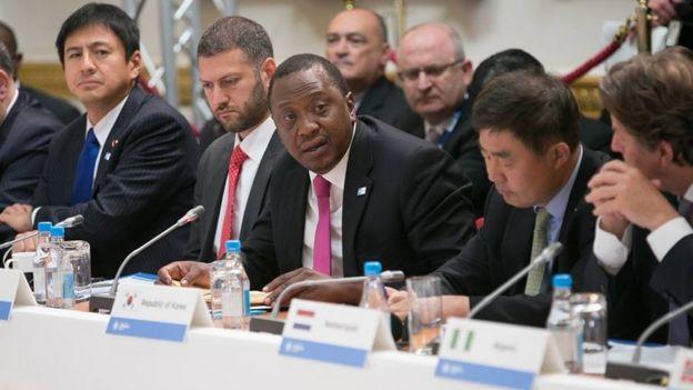 Kenyatta ayaa ku baaqay in la kordhiyo ciidammada AMISOM