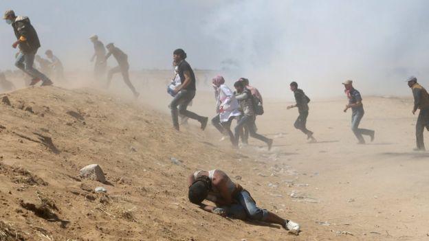 اعتراض فلسطینیها