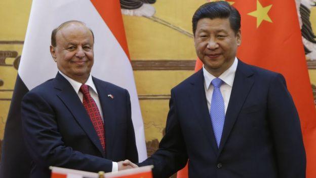 йеменский президент Абд-Раббу Мансур Хади встретился с Си Цзиньпином