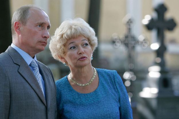 Vladimir Putin y Lyudmila Narusova