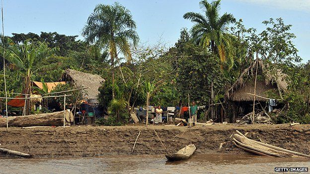 Village in Isiboro Secure National Park and Indigenous Territory (TIPNIS)