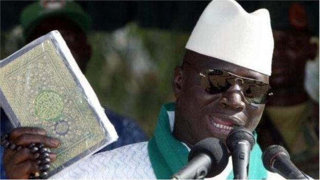 Yahya Jammeh vit en exil en Guinée Équatoriale depuis qu'il a quitté le pouvoir en janvier 2017.
