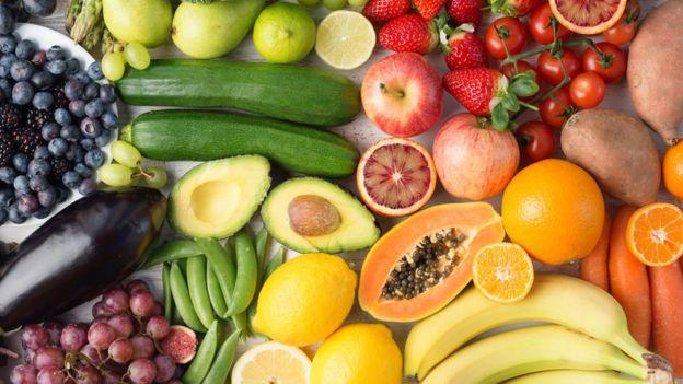 frutas e verduras laxantes