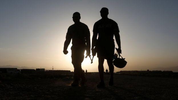 美國在阿富汗的軍隊