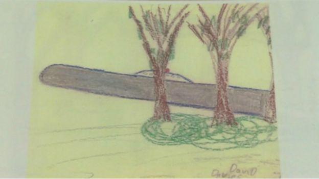 David Davies' drawing