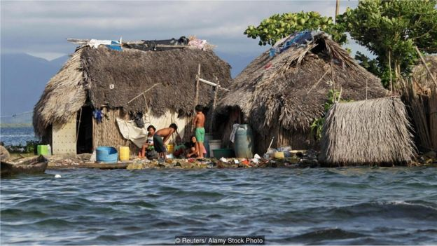 moradores de San Blas