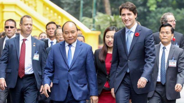Thủ tướng Canada Justin Trudeau thăm chính thức Việt Nam trước khi dự APEC.