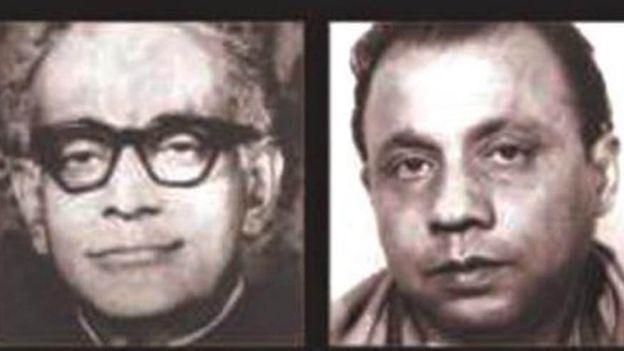 ক্যাপ্টেন এম মনসুর আলী ও এ এইচ এম কামরুজ্জামান