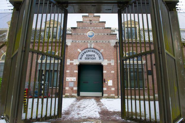 Prison gate