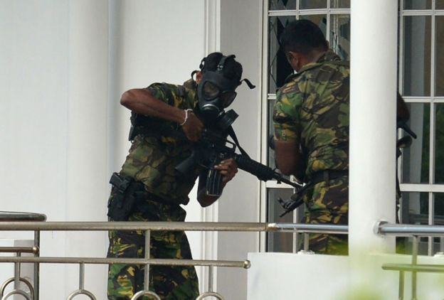 نیروهای ویژه پلیس سریلانکا