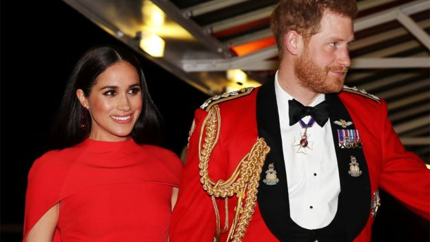 Harry and Meghan attended the Mountbatten Festival of Music at the Royal Albert Hall in London
