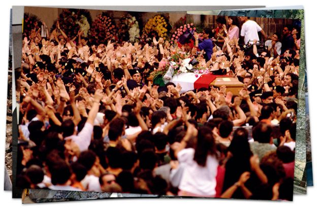 Funeral de Giovanni Falcone