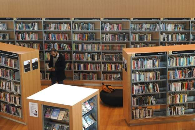 Interior of a library - generic image