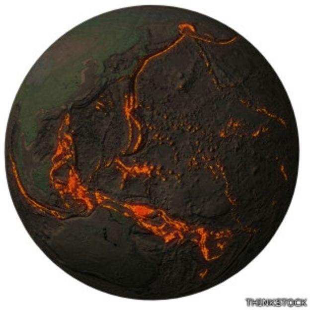 El área del cinturón comprende la mayor zona volcánica y sísmica del mundo.