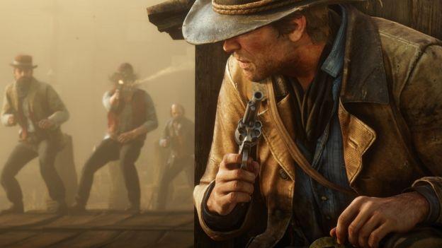 Escena de Red Dead Redemption 2