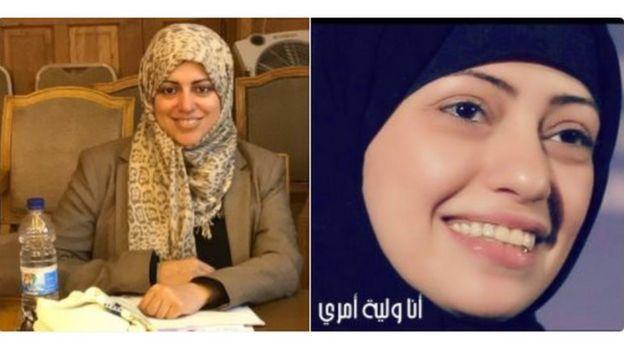 سمر بدوي ونسيمة السادة اعتقلتا معاً