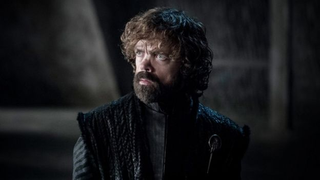 Tyrion Lannister en el capítulo 5 de la temporada 8 de Game of Thrones.