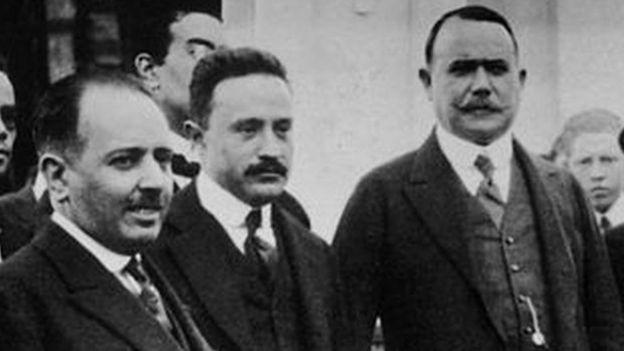 Alberto J. Pani con Plutarco Elías Calles