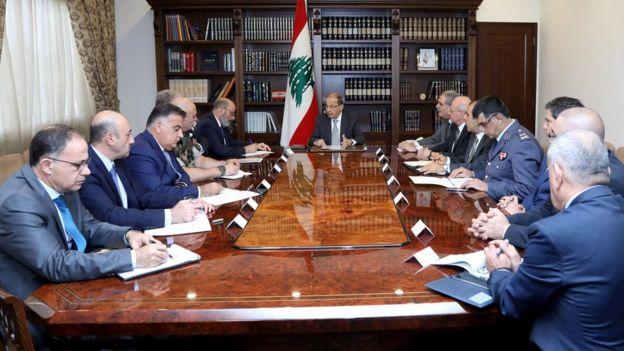 عون يؤكد في الاجتماع الأمني عدم اتخاذ قرار قبل عودة الحريري من السعودية