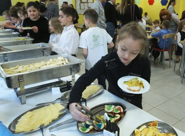 шкільна їдальня