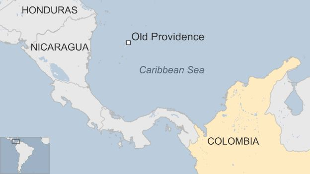 The Island Where Men Are Disappearing BBC News - Nicaragua location on world map