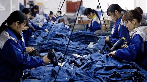 中國製衣工廠