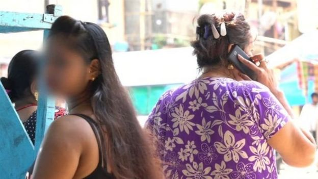 मुंबई के कमाठीपुरा की सेक्स वर्कर