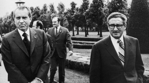 Tổng thống Richard Nixon và Henry Kissinger