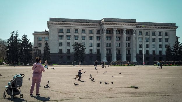 Будинок профспілок в Одессі