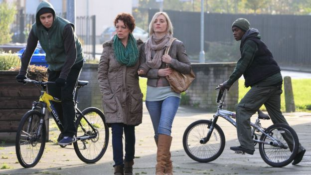 Olivia Colman and Ann-Marie Duff in Accused (Mo's Story) (2012)