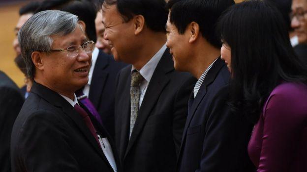 Ông Trần Quốc Vượng, Chủ nhiệm Ủy ban Kiểm tra Trung ương, đã chính thức giữ chức Thường trực Ban Bí thư