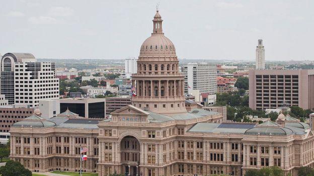 Edificio del estado de Texas
