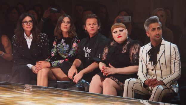 Celebrity guest judges