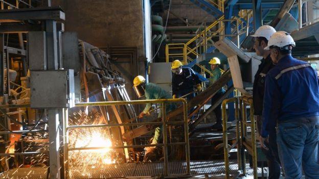 ذوب آهن ایران