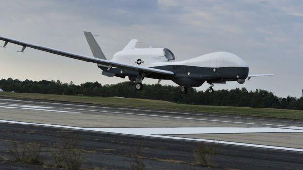 Un dron MQ-4C Triton