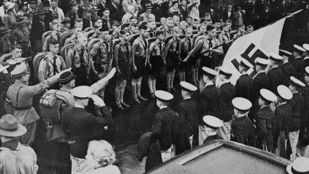 Juventudes nazis en 1936