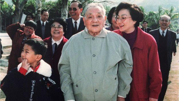 邓小平1992年南巡