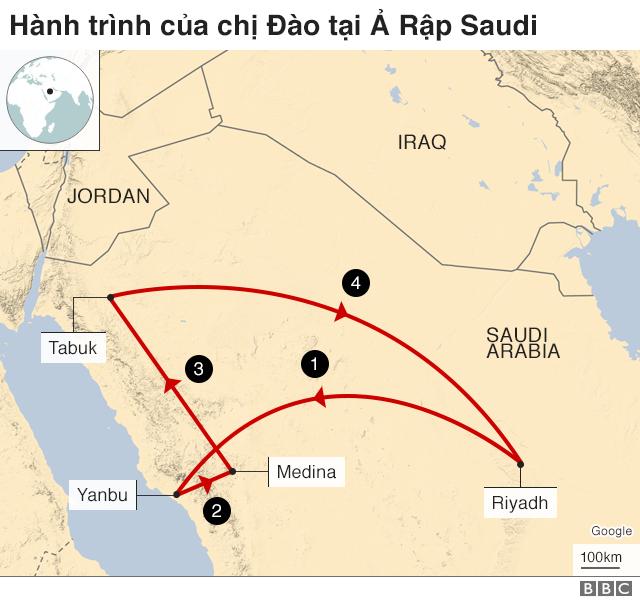 Dao's journey in Saudi Arabia
