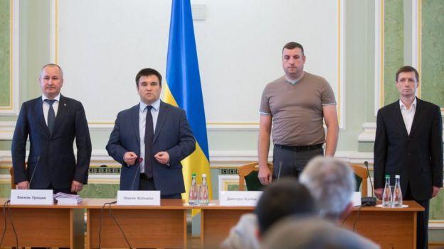 Василий Грицак, Павел Климкин
