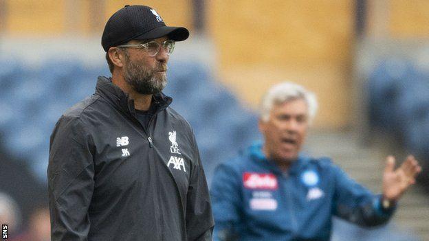 Liverpool's Jurgen Klopp backs Murrayfield for Champions