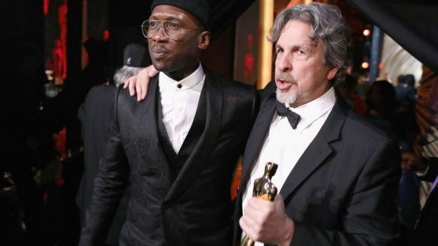 Mahershala Ali y Peter Farrelly